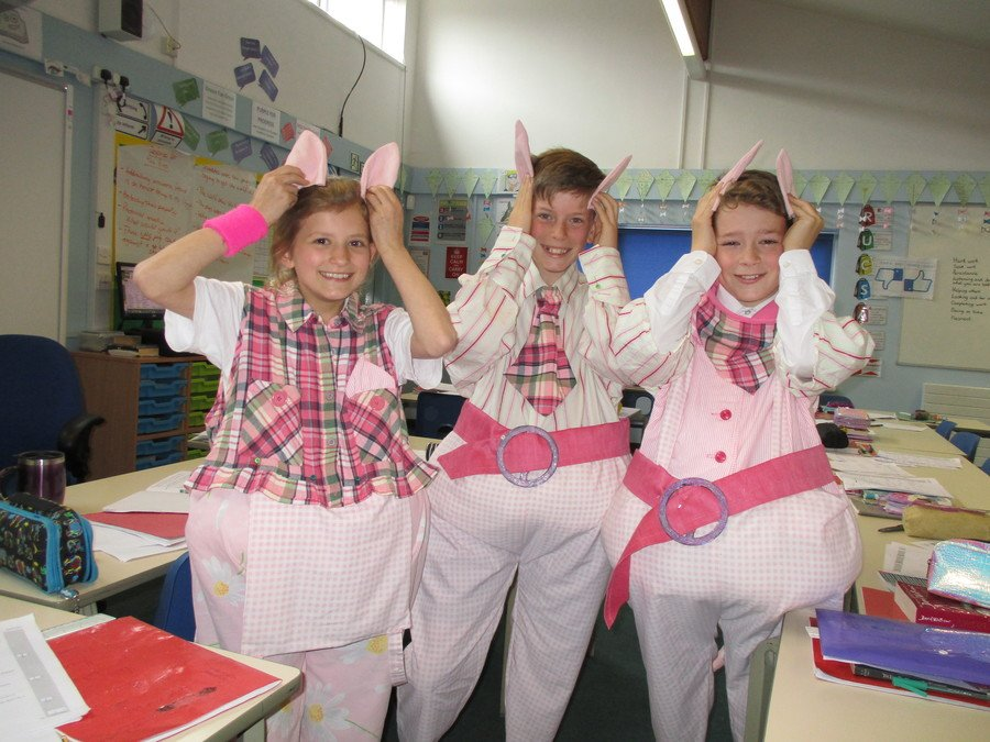 Continuing our apparent pig theme - thankfully these are for Shrek and not up for murder of the Big Bad Wolf