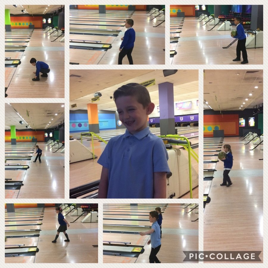 Lower School had an amazing experience playing bowling - some for the very first time! Well done Junior for getting a strike!