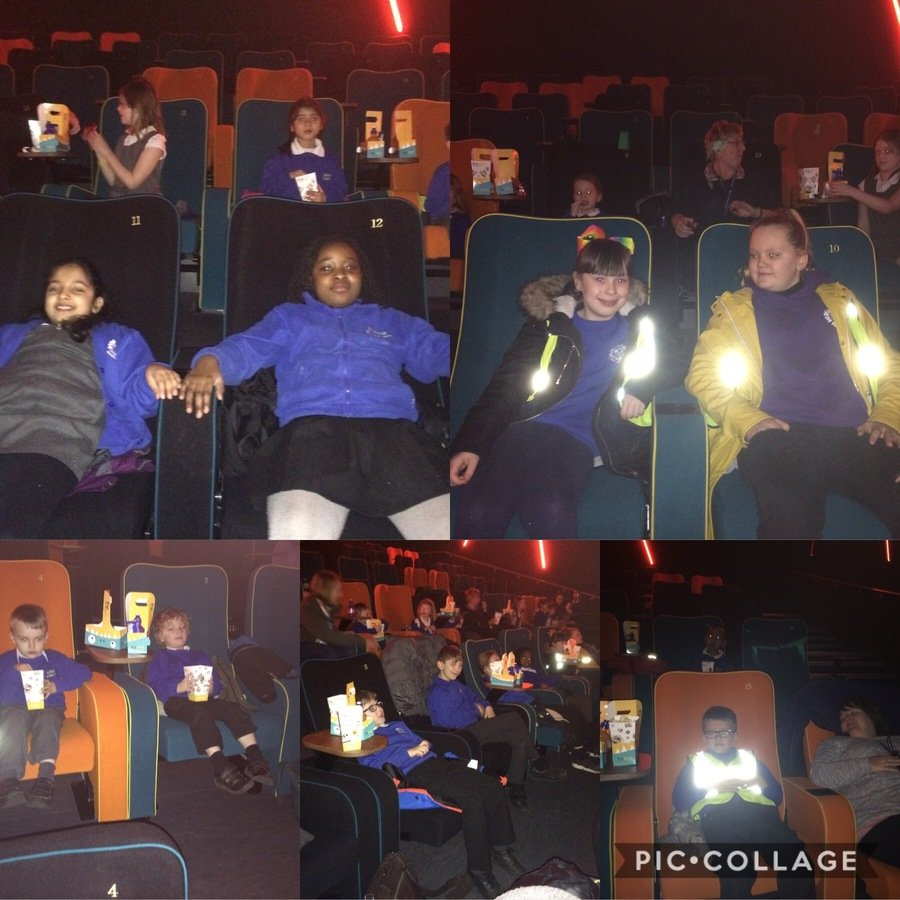 We enjoyed our visit to Stockport's new cinema. The seats are very comfortable and the popcorn is very tasty!