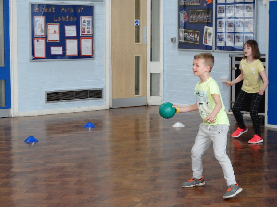 Dodgeball with Miss Lowe