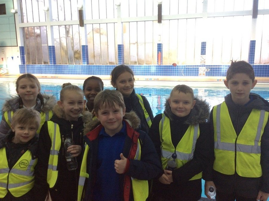 5th January 2018: We were very proud of all our swimmers today as they entered Whitehill's first swimming gala! Everyone finished their races and we showed excellent team spirit throughout the morning. Well done everyone!