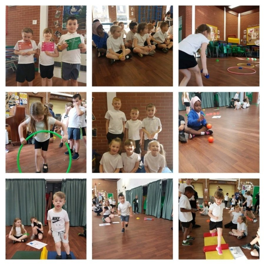 15th February 2018: Our Key Stage 1 athletics team had great fun at the indoor Athletics competition at Cale Green Primary School. They were all very determined to do their very best and all worked well as a team.
