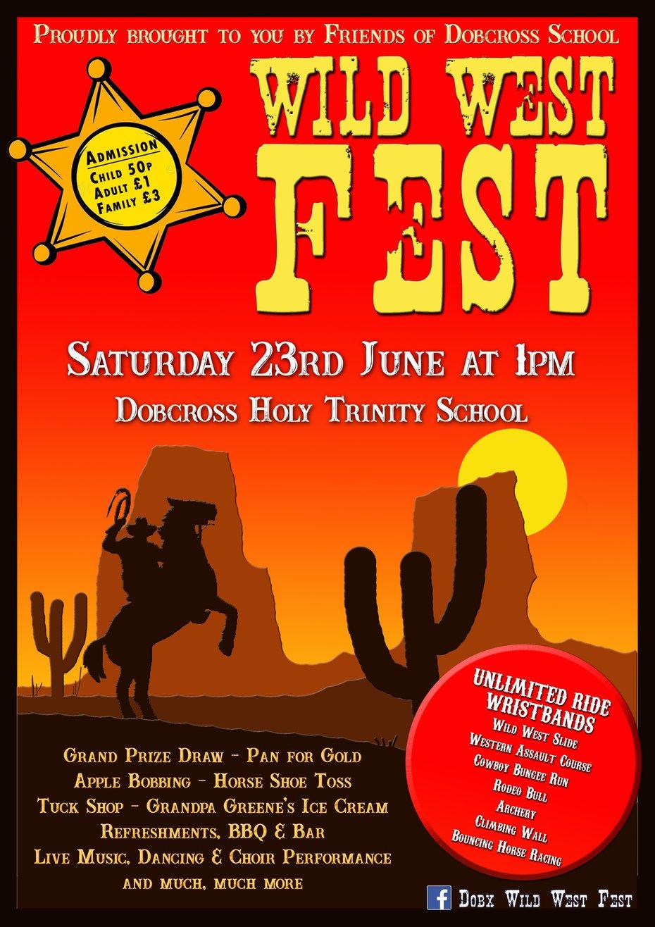 West West Fest Flyer front