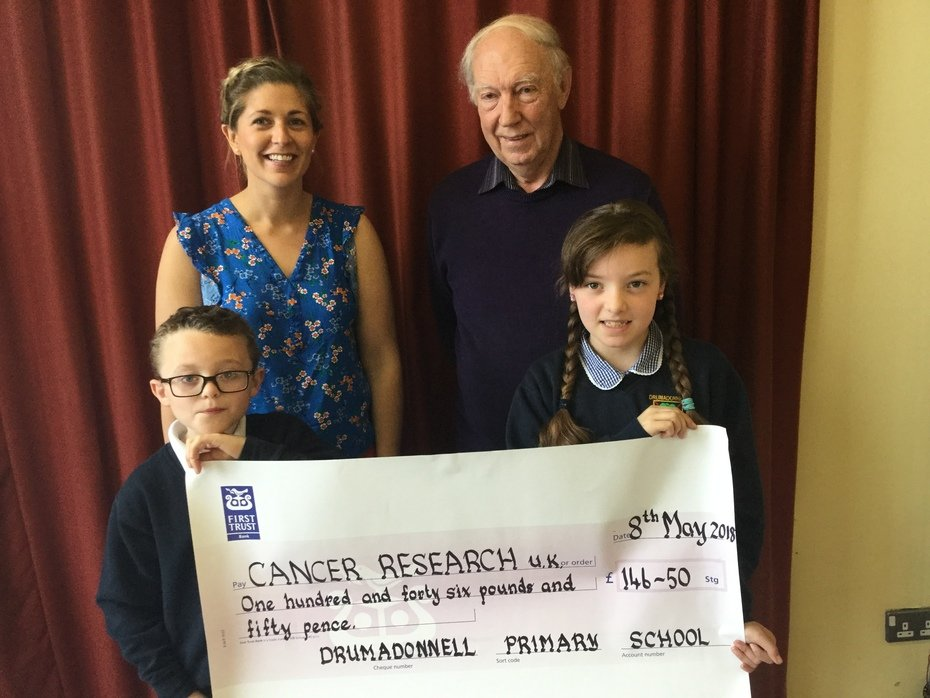Presentation to Cancer Research UK