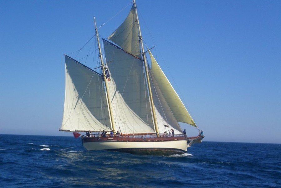 Sail Training on the Tall Ship 'Maybe'