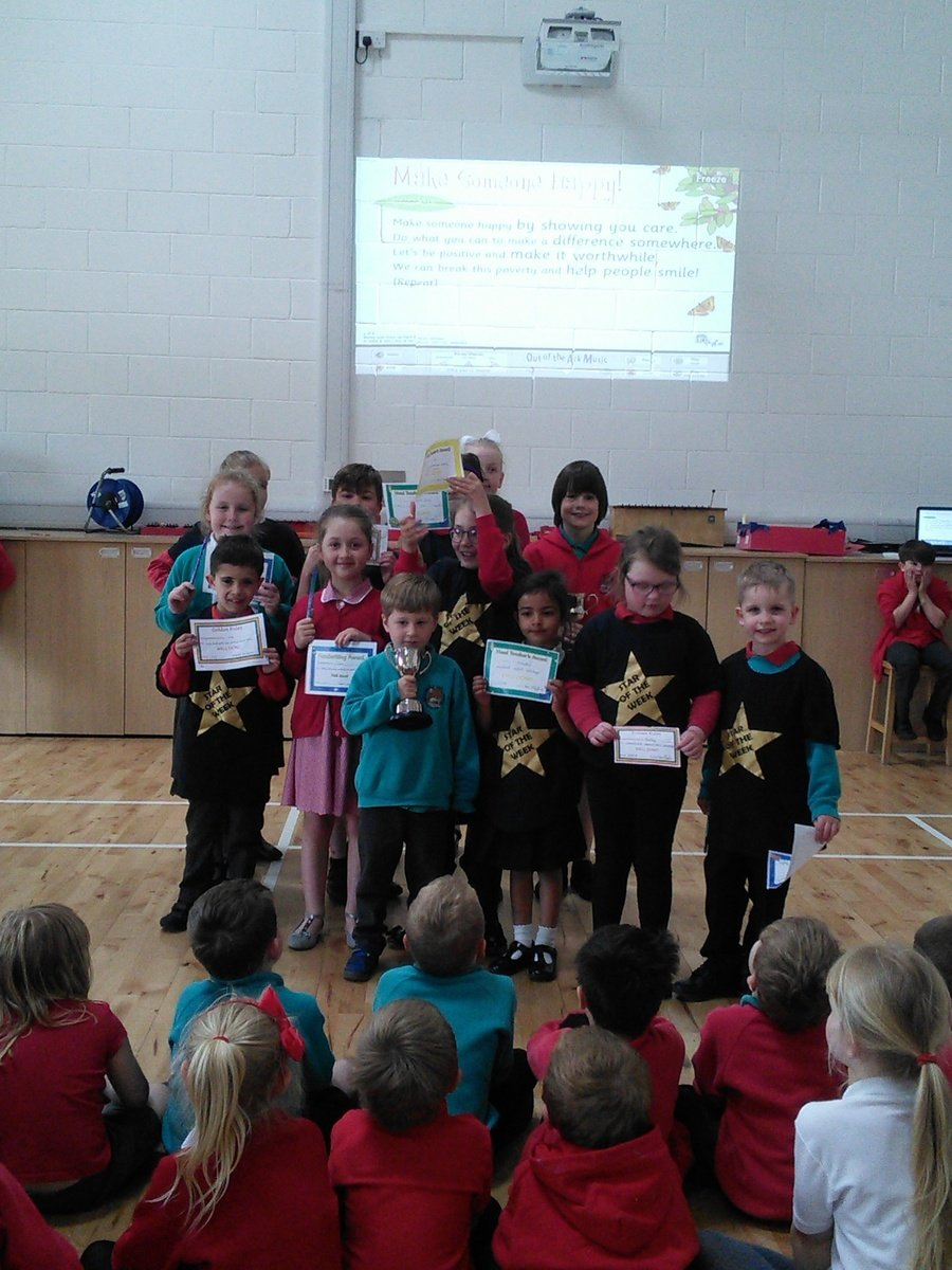 Golden assembly winners 11th May 2018