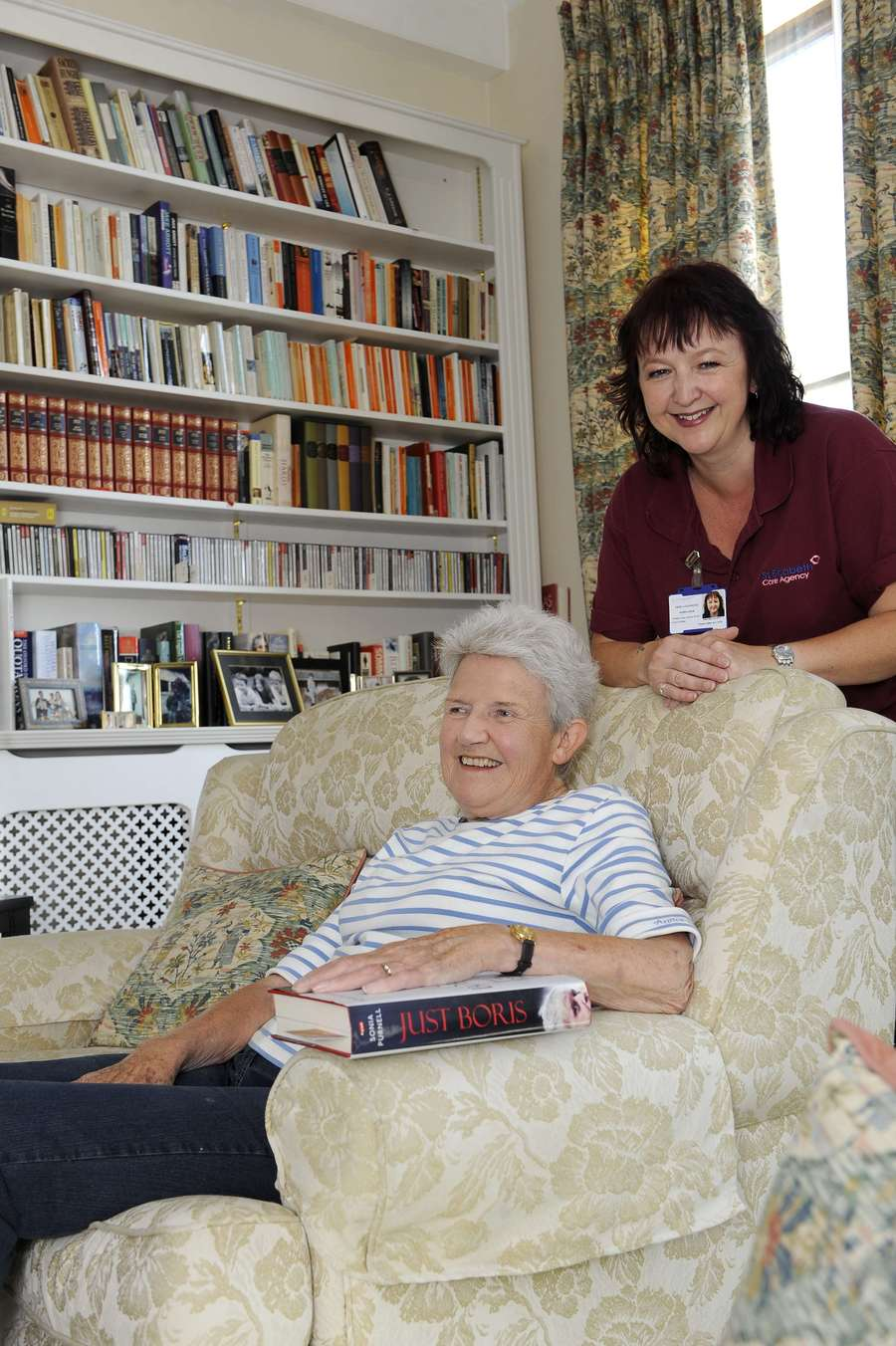 """""""Very happy with the service I receive.  My carer is always punctual, has a really pleasant manner and we get along well together"""""""