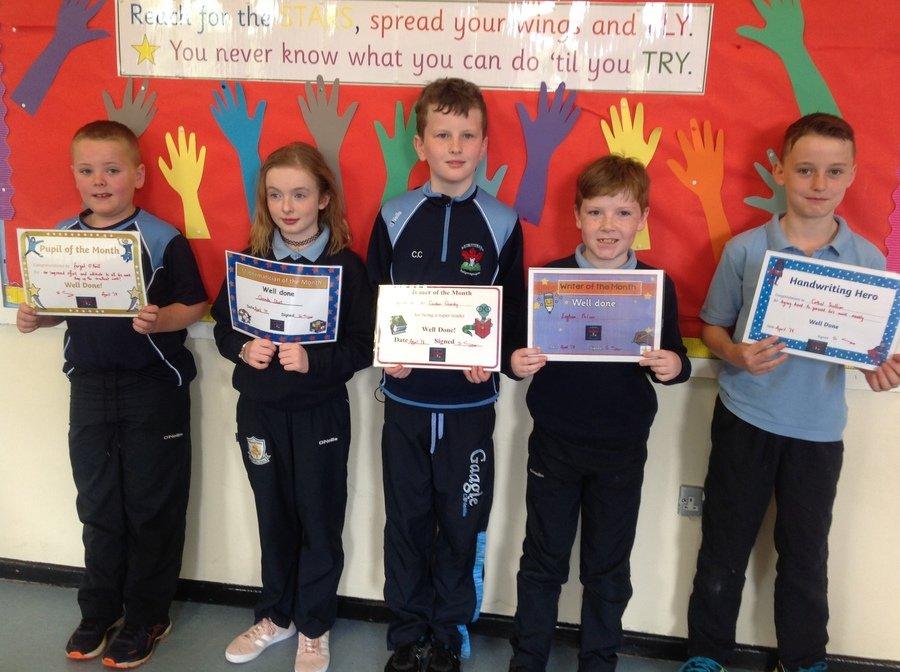 Fergal, Caoimhe, Caidan, Eoghan & Cathal