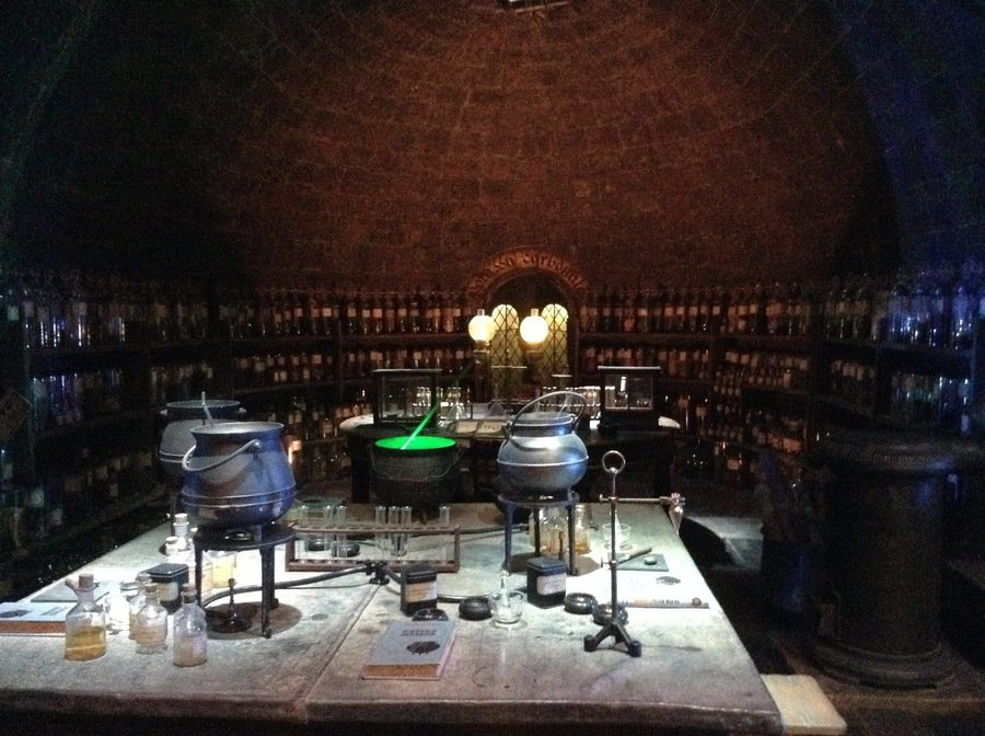 The potions classroom!