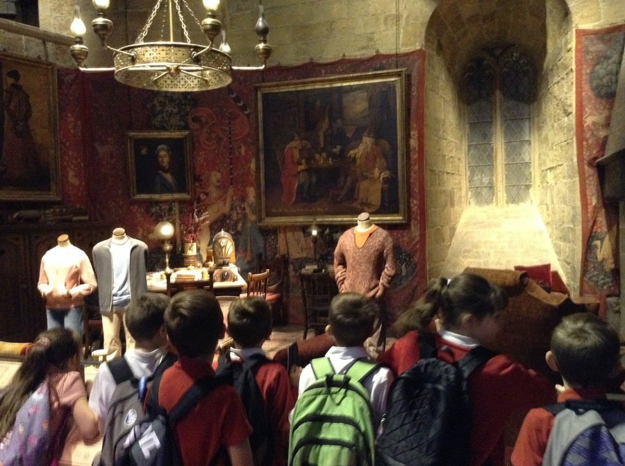 The Gryffindor Common Room!