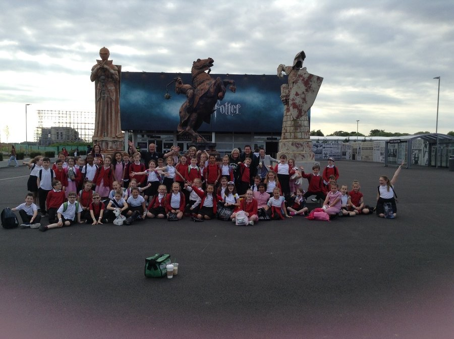 The whole of year 4 had a magical time! (Including the adults!)