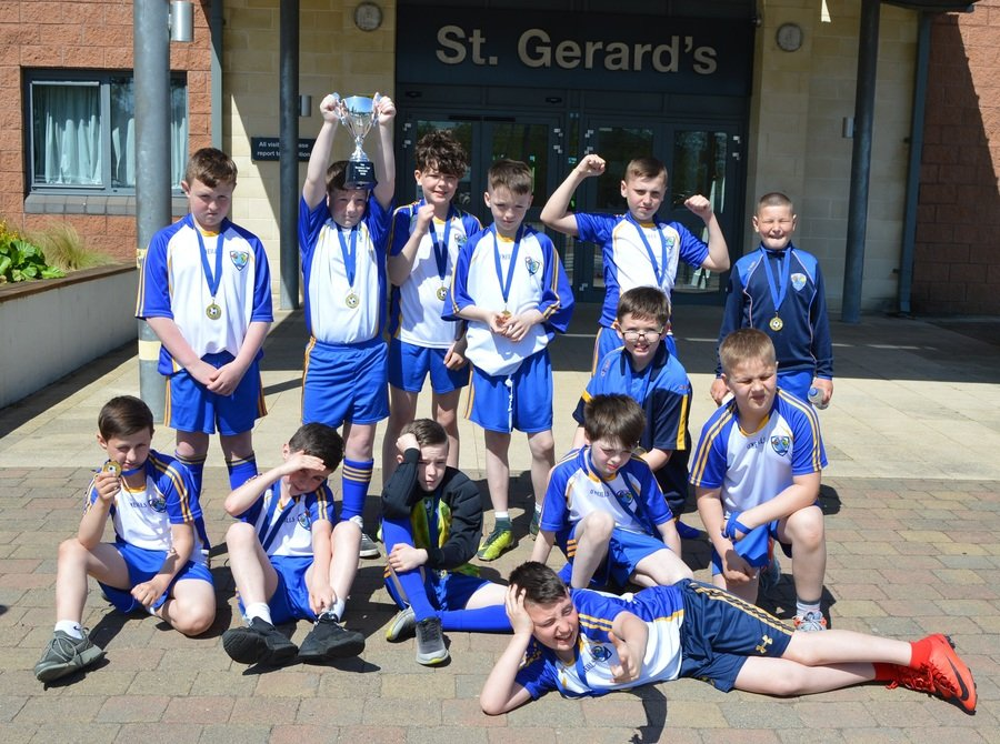 Soccer Champs- Winners of the 'Bluebell Cup'
