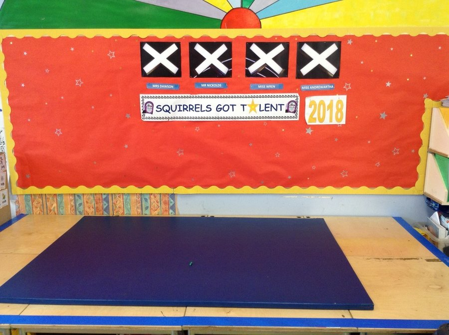 The STAGE is set!  Please bring in your child's costume / change of clothes as soon as possible so they can practise wearing them.