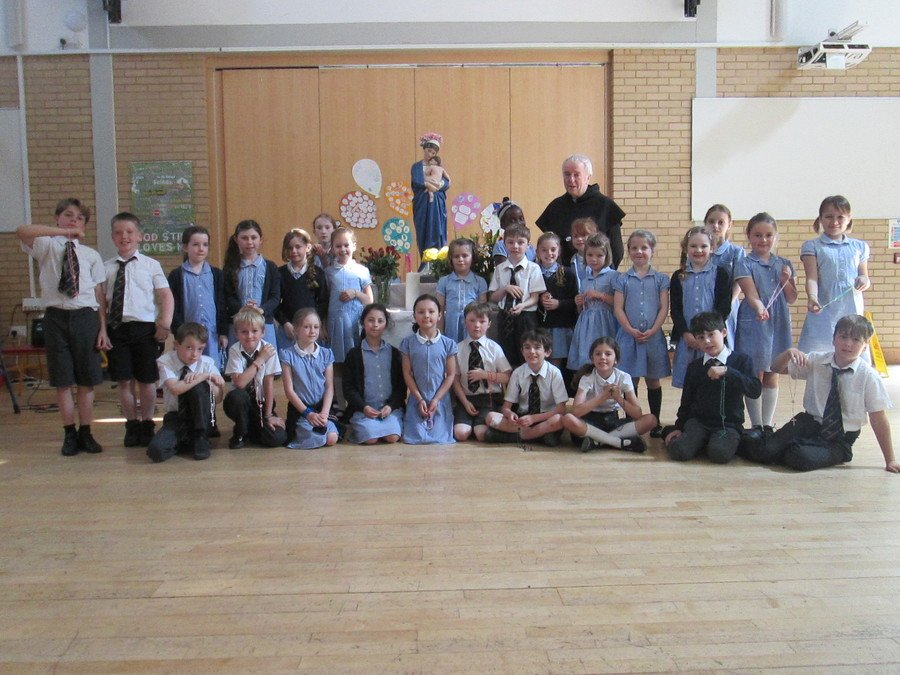 Thank you so much to Fr Bill who came and celebrated the Rosary with us in the month of Mary.