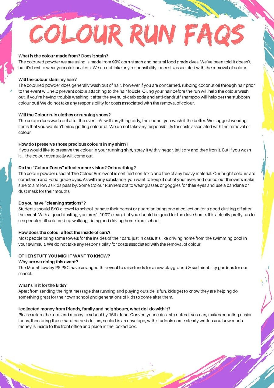 P&C Colour Run FAQs pg2