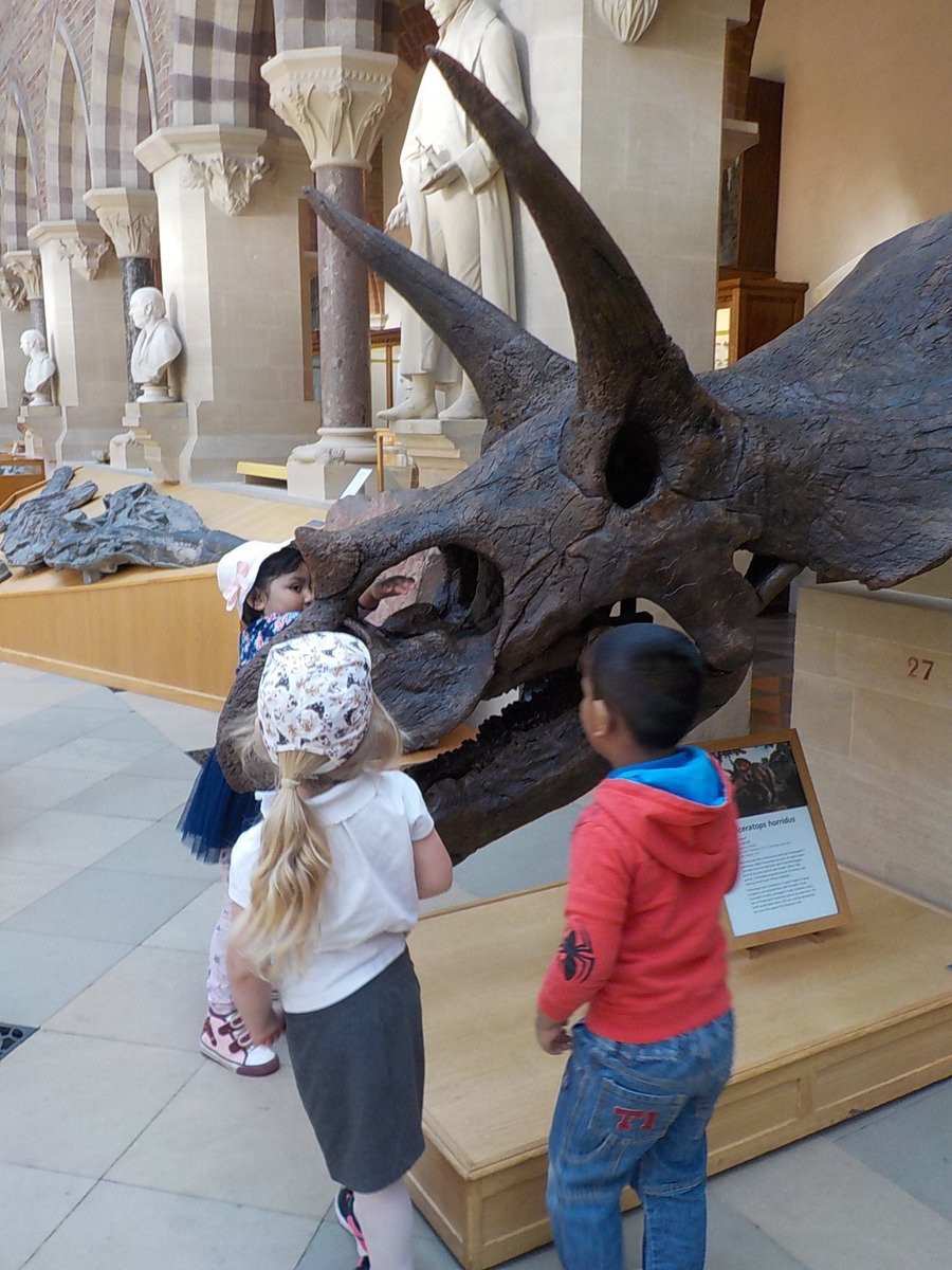 Nursery Visit to the Oxford Museum of Natural History
