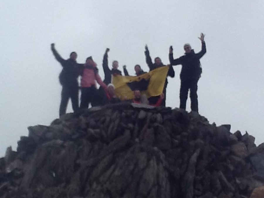 The Three Peak Challenge