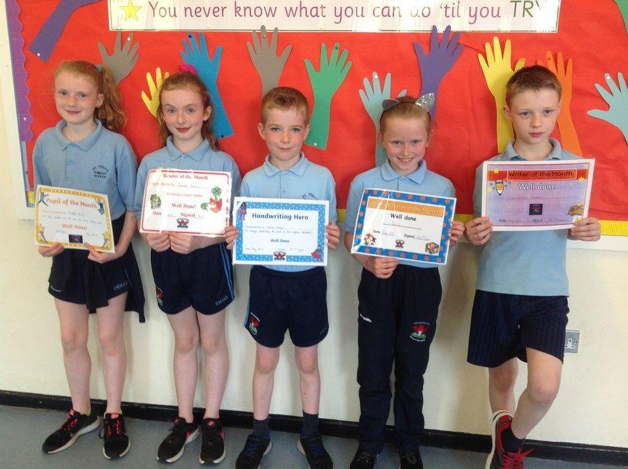 Clodagh, Caoimhe, James, Olivia & Cormac