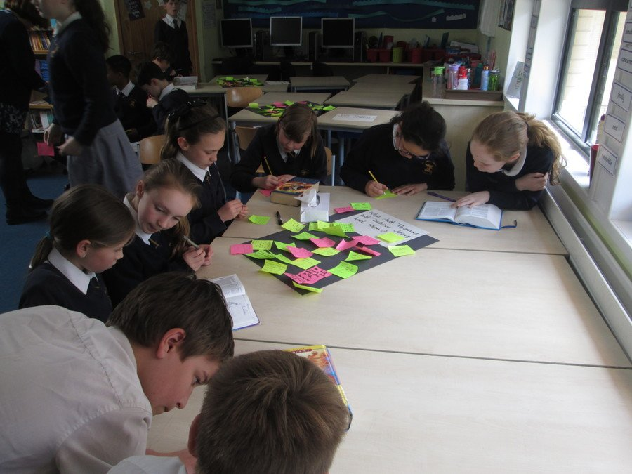 The children debated whether Thomas was right to doubt and used the Bible to back up their views
