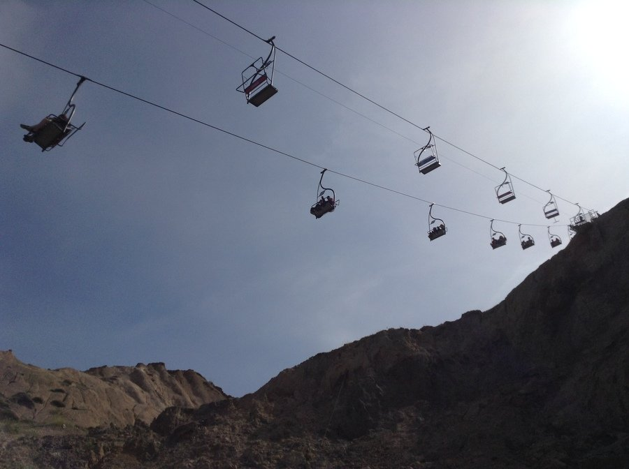 The Alum Bay Chairlift