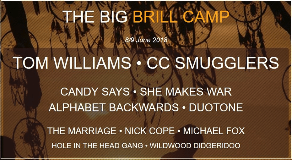 Big Brill Camp   One Week To Go!