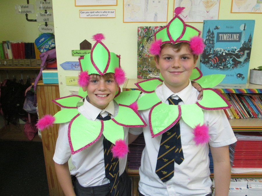 Jacob & Ethan showing us their carnival style!