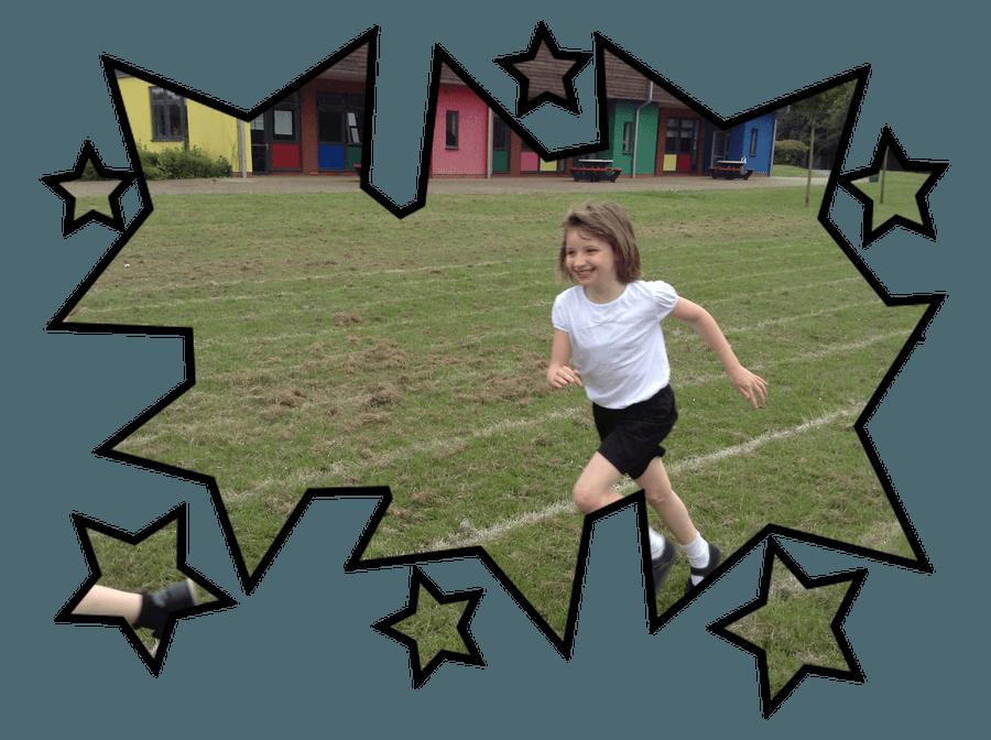 Relay races in PE