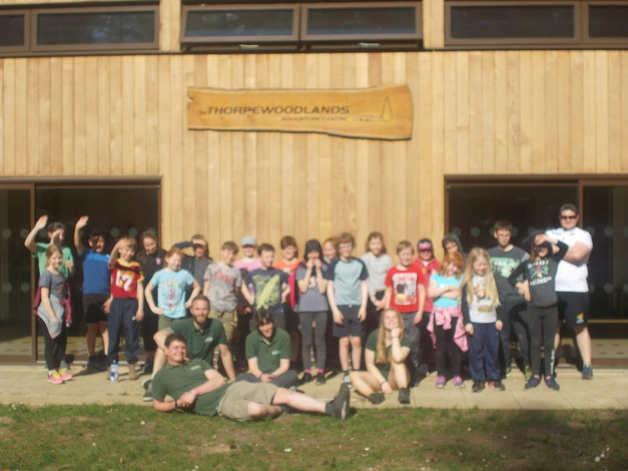 Owls Residential Trip to Thorpe Woodlands - April 2018
