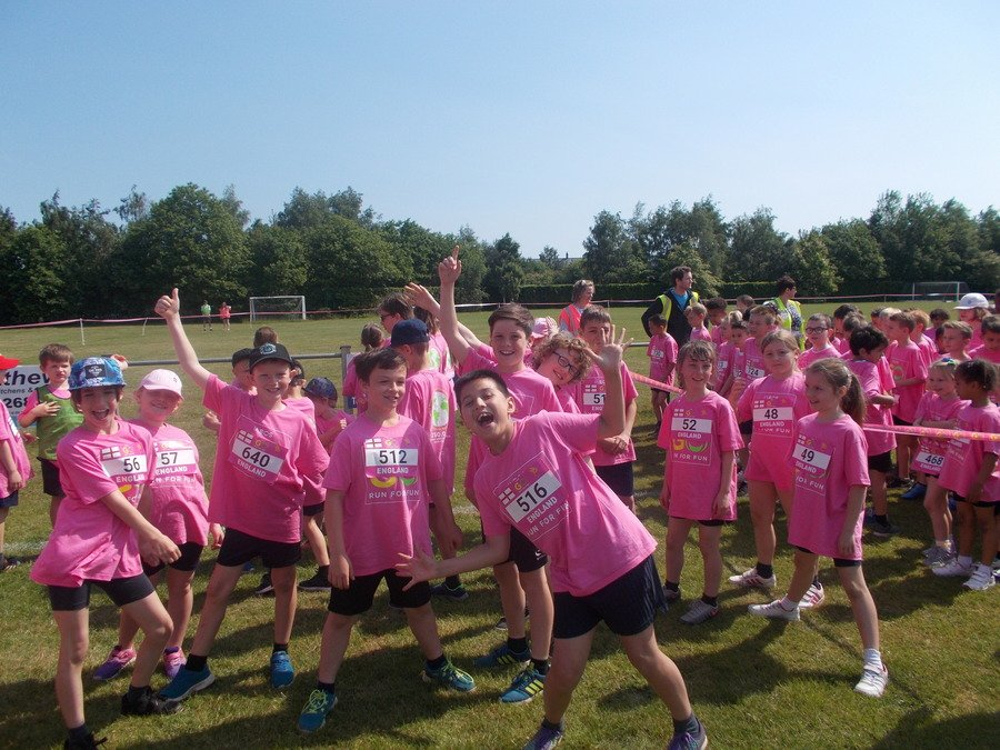 May 2018. KS2 took part in Go Run for Fun 2k at gainsborough  Sports Centre.