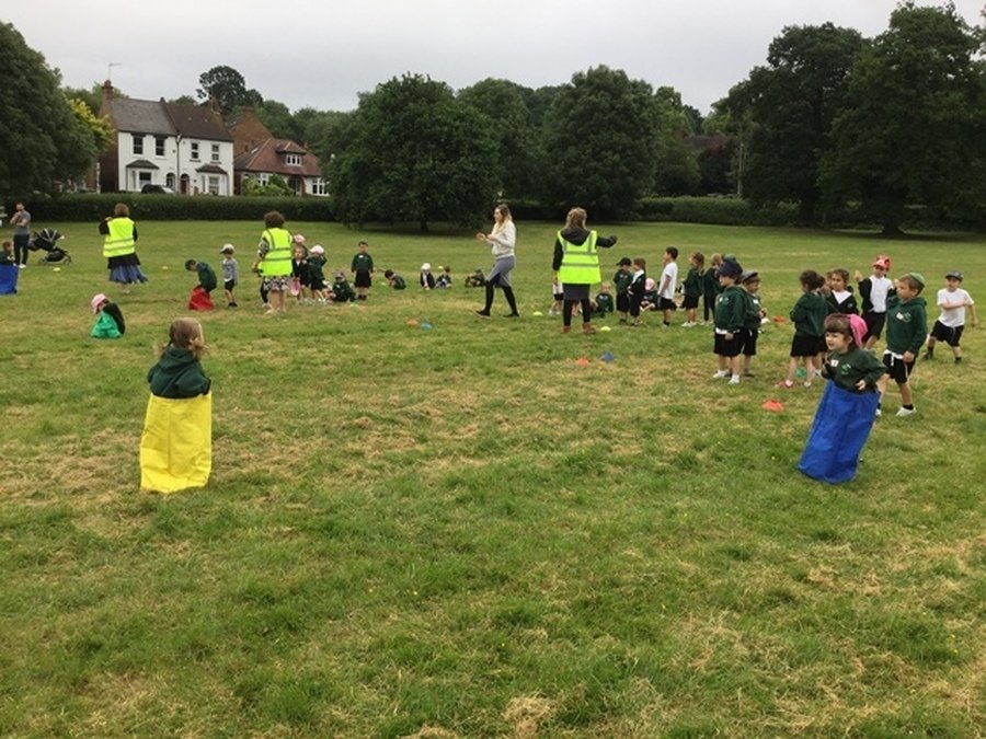 Foundation Stage Sports Day June 2018