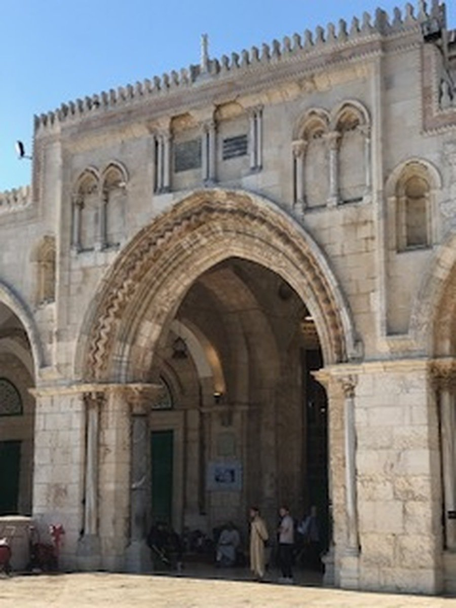 The Al - Aqsa Mosque