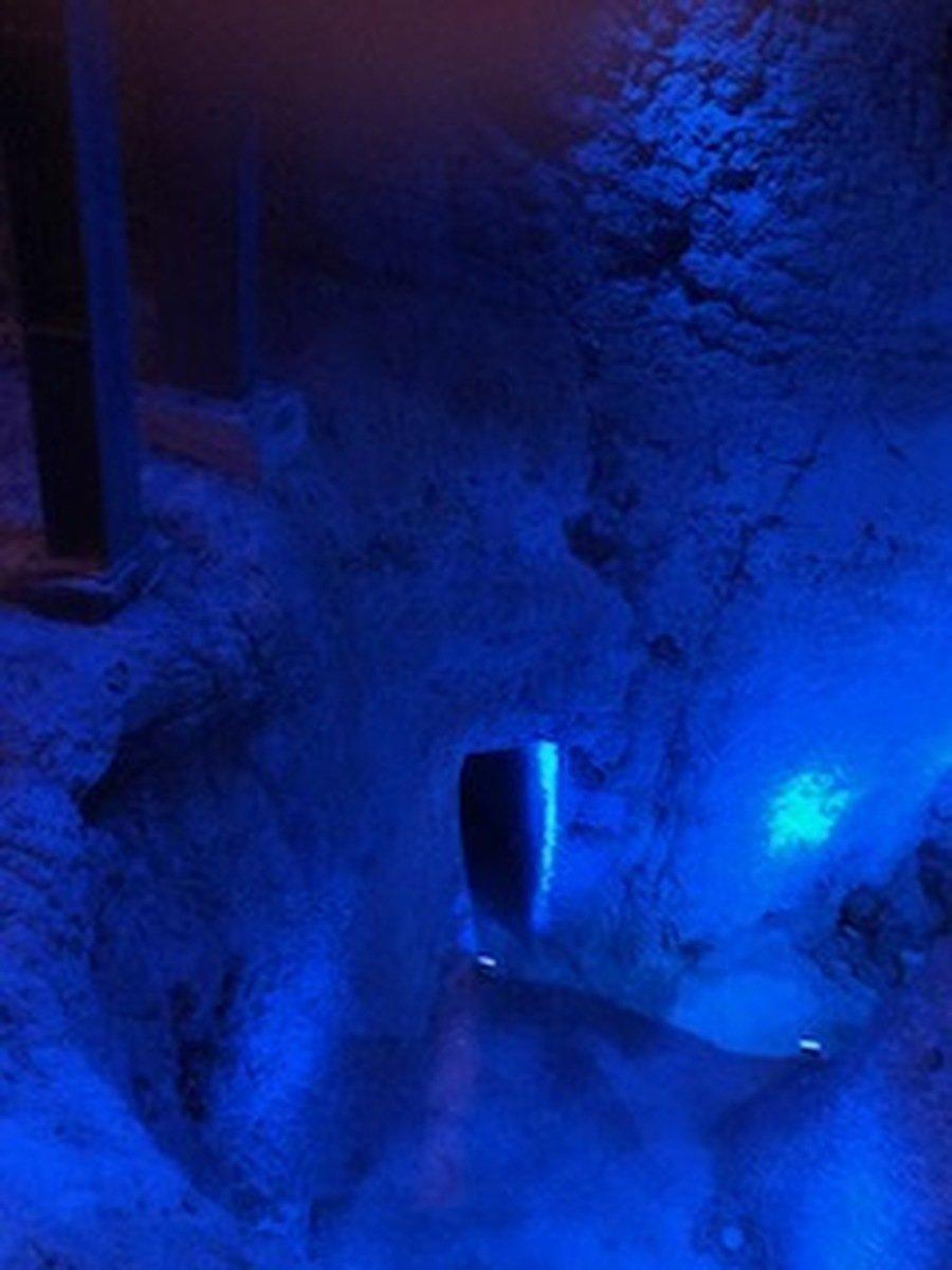 In Hezekiah's tunnel.