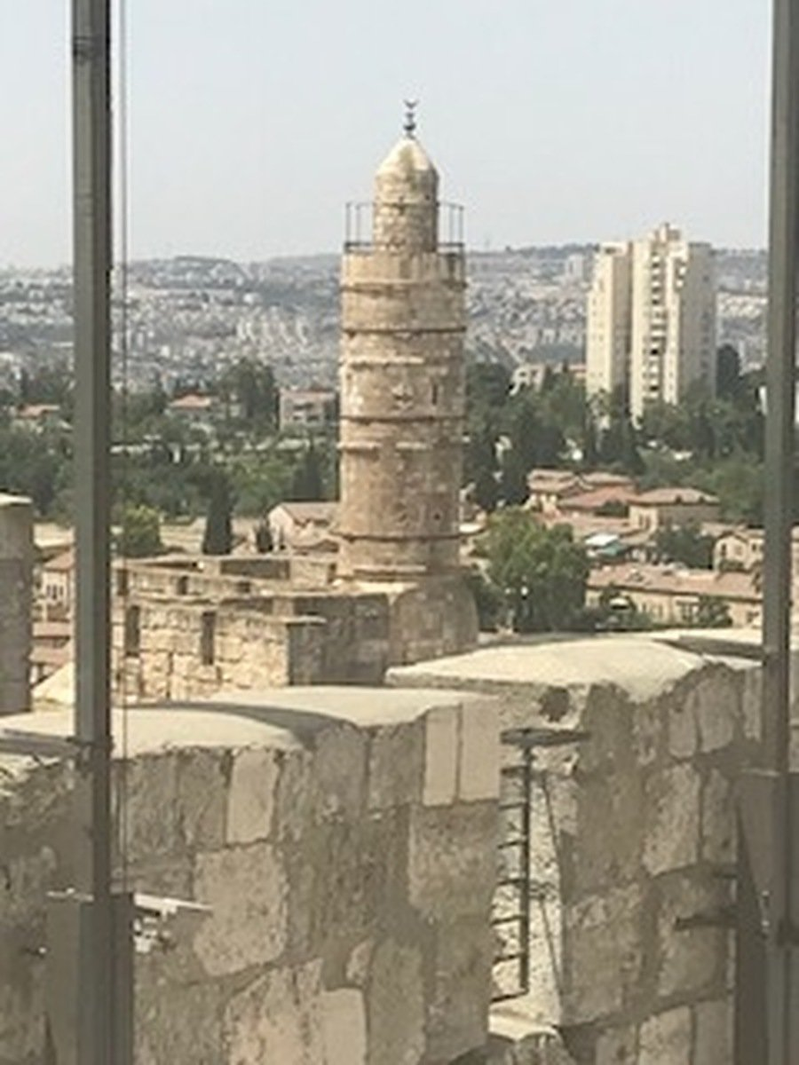 Called also the Tower of David , converted to be a mosque