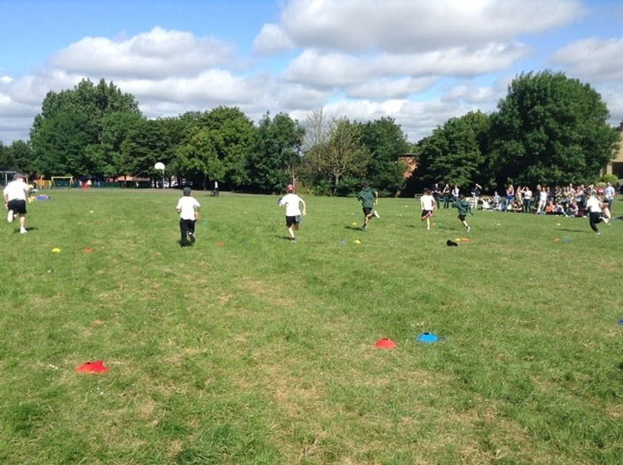 Key Stage 1 and 2 Sports Day June 2018