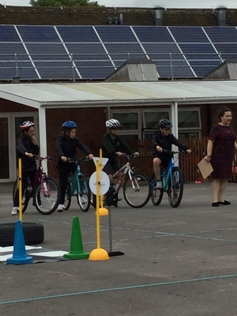 Bike to School Week June 2018