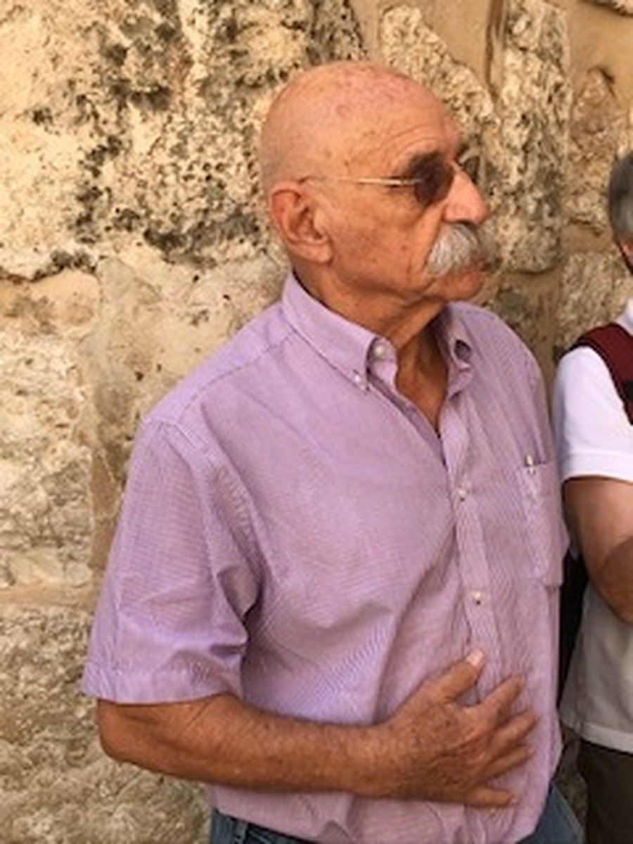 Dan, our guide to the Holy Sepulchre