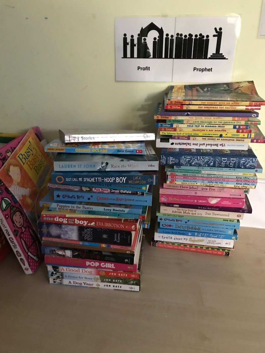 Thank you so much for all the books you donated for Watamu Primary in Kenya.