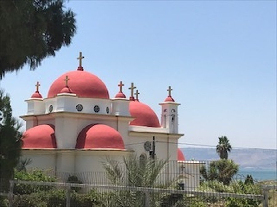 The Greek Orthodox Church at Capernaum