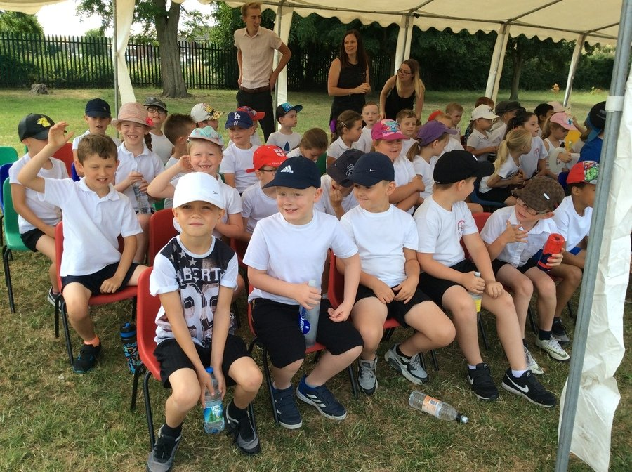 What an amazing Sports Day! Thank you to all parents, carers, family and friends who turned up to watch the event. There were many hours of practice that had gone into this and we as a school are so proud of all our KS1 students having a go at every race. Well Done Key Stage 1! Take a look at the pictures below of Sports Day and even of the Adults race at the end.