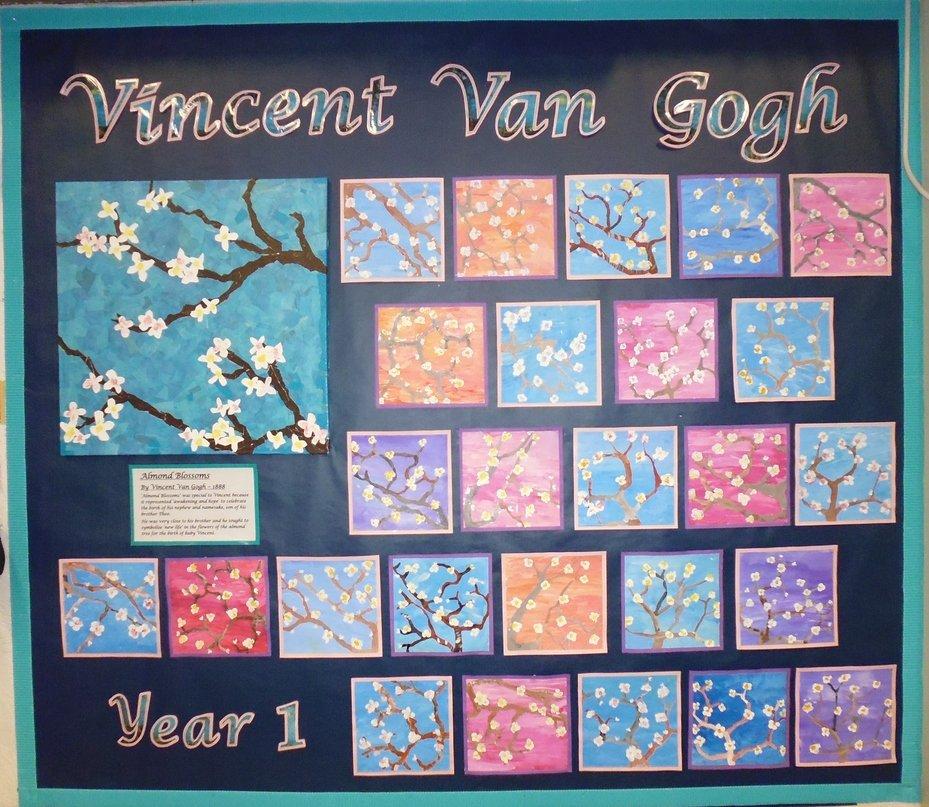 Year One Van Gogh Display