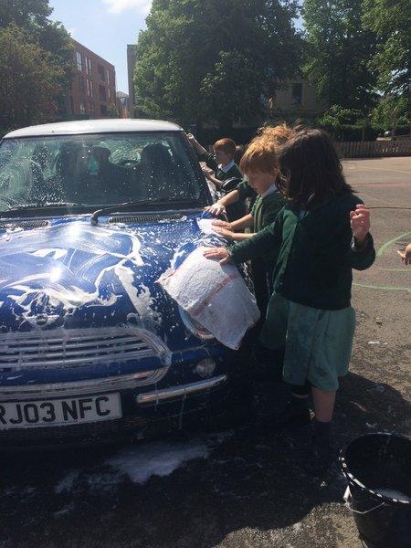 Knavesmire Primary School - CAR WASHING
