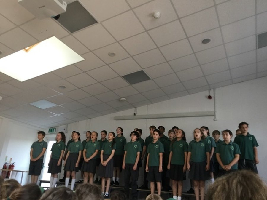 Year 6's Leavers Assembly July 2018