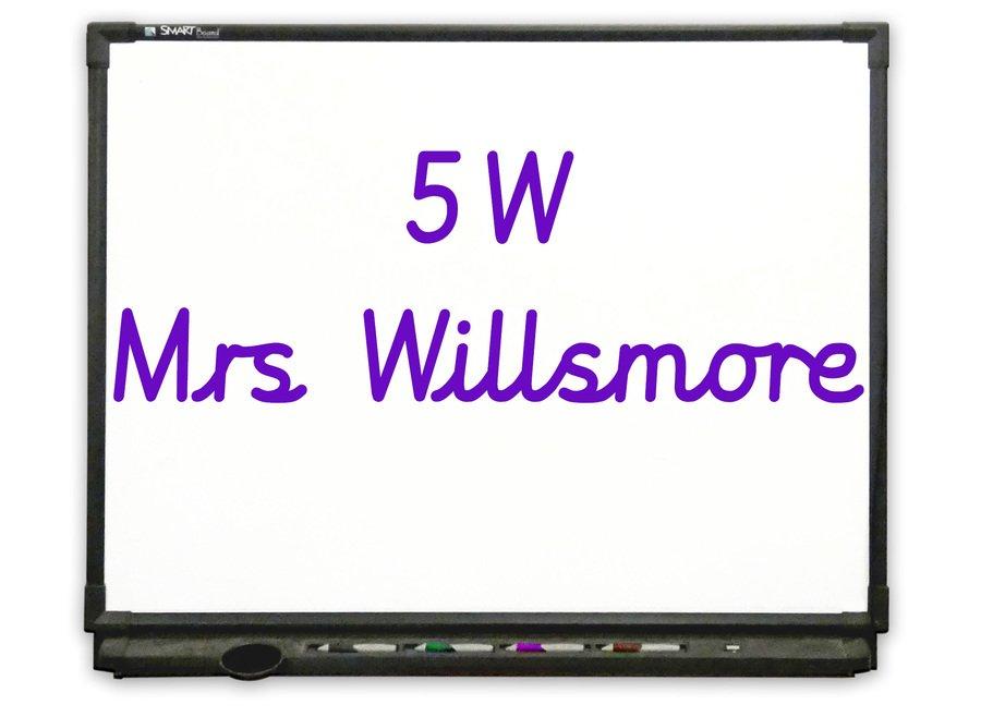 Go to Class 5W