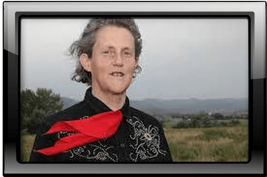 Temple Grandin is an American professor of animal science and a spokesperson on autism