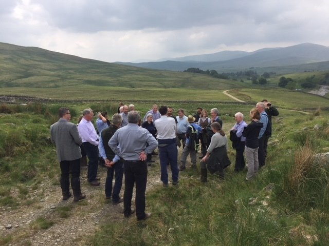Members at the Summer Meeting at Galloway & Southern Ayrshire UNESCO Biosphere - June 2018