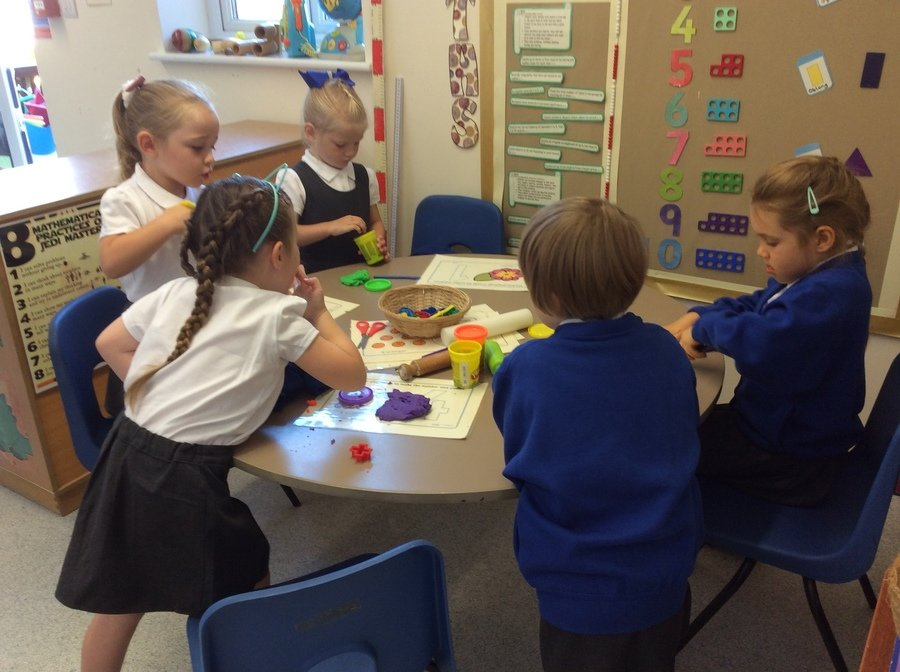 We enjoyed our first day at school.