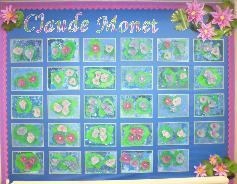 Reception Artwork of Monet