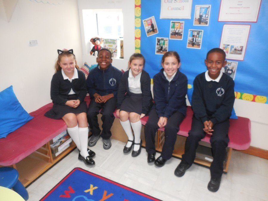School Council 2018 – 2019 Holly, Jadon, Cassie, Ruby and Kyron