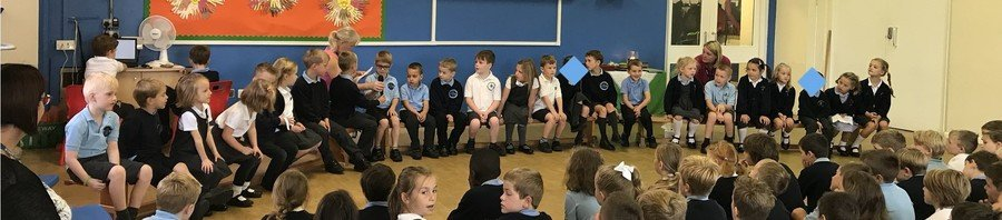 Our first class assembly of the year