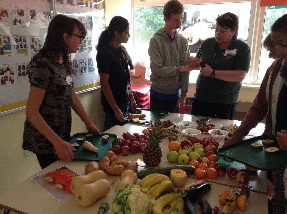 Baginton Fields School - Healthy Eating